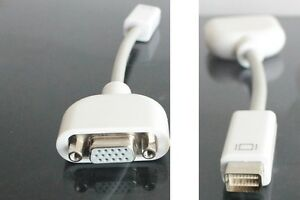 Adaptateur Mini DVI - VGA (Macbook / iMac) Adapter *NEUF*