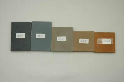Japanese Katana Sword Grinding Wheels Polishing Set 5 Types Stone Unused FedEx