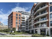 LUXURY 1 BED APARTMENT 600 SQ. FT FULLY FURNISHED PRIVATE BALCONY CONCIERGE TRANSPORT LINKS FULHAM