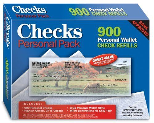 NEW Checks  Personal Pack FREE SHIPPING
