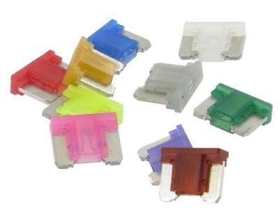 14 Pieces 5 - 30 Amp Slim Low Profile Mini Fuses 5a 7.5a 10a 15a 20a 25a 30a Set