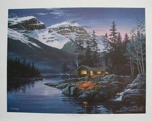 Fred BUCHWITZ Rocky Mountain Hideaway LIMITED edition print COA