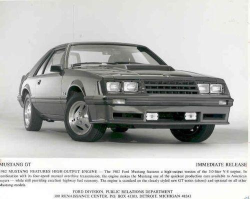 1985 Mustang Gt Ebay