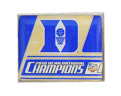 2010 Duke University Blue Devils Men's Final Four NCAA National Champions Pin