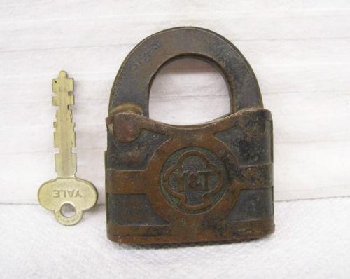 Antique Yale Lock Ebay