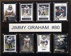Jimmy Graham NFL Plaques