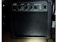 Guitar Amplifier Peavey Audition TransTube 6,5inch 7Wat HiGain