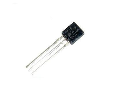20pcs Tl431a Tl431 Kia431a Precision Shunt Regulator Original New To-92