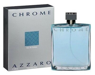 Azzaro Men's Chrome Eau de Toilette Natural Spray, 6.7 Fl Oz