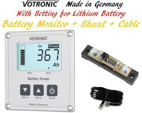 Marine Battery Meter : Boat battery gauge ebay