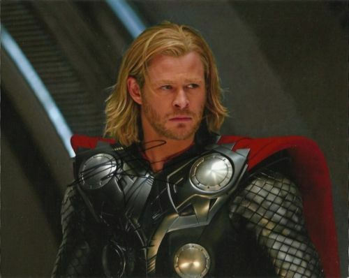 Chris Hemsworth Thor Autographed Signed 8x10 Photo COA PROOF