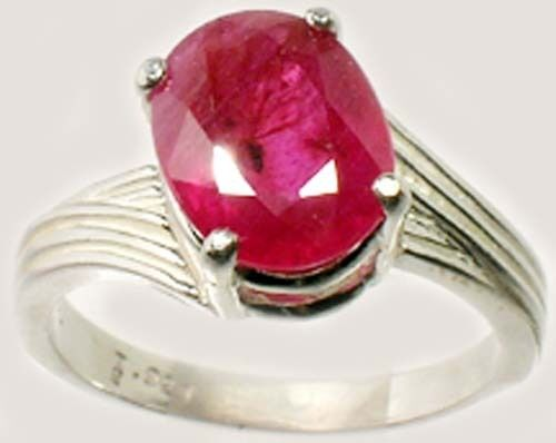 Ruby Ring 3½ct Antique 19thC Gem of Greek Roman Theophratus Plato Pliny Heraclea