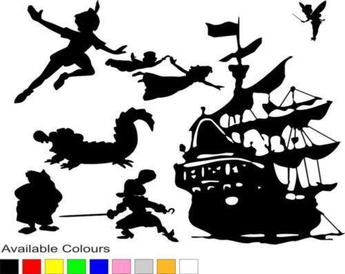 Peter Pan Wall Stickers Ebay