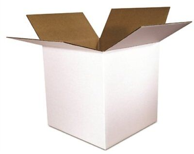 Shipping Boxes White Corrugated Cardboard Box Smilemail Cartons Mailers
