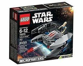 Lego Star Wars Vulture Droid 75073. Brand new and unopened.