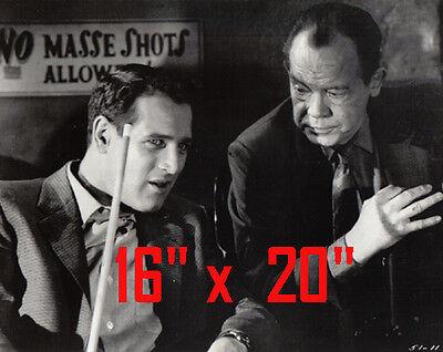 Paul Newman~Hustler~Billiards~Shooting Pool~Playing Pool~Photo~Poster 16 x 20