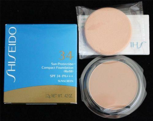 Shiseido Sun Protection Compact Foundation Ebay