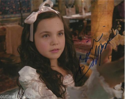Bailee Madison Once Upon A Time Autographed Signed 8x10 Photo COA #3