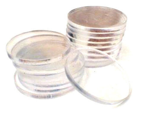 100 Clear Chip Spacers Casino Style Blackjack Poker Dealer Tray *