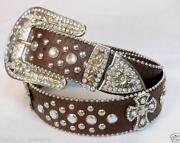 Girls Western Rhinestone Belts