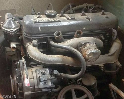 Daihatsu Fourtrak 2 8 Non Turbo Diesel Engine Complete No