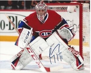 Carey Price Signed Autographed Photo 8x10 Montreal Canadiens