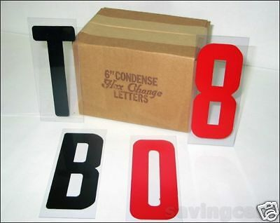 6 Letters On 6 78 Changeable Flex Panel For Portable Marquee Signs