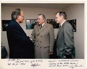 George Bush Signed Photo