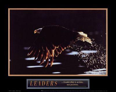 INSPIRATIONAL ART PRINT Leaders Bald Eagle - Leaders Bald Eagle