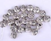 Silver Buddha Charm