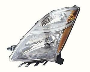 2007-2009 Toyota Prius Headlight Driver Side Without HID From November 2005 To 2009