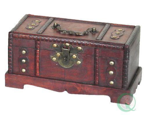 Antique Treasure Chest Ebay