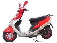 50cc moped in good working order with mot and log book.
