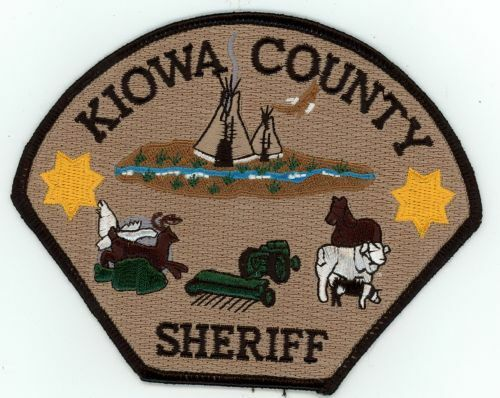 KIOWA COUNTY SHERIFF COLORADO CO NEW SHOULDER PATCH POLICE