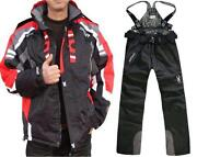 Mens Black Ski Jacket