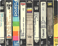Tape Transfer Service (Analog video/audio to digital… VHS, VH