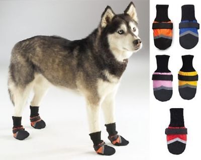 Dog Boots Guardian Gear Water Repellent All Weather Protective Booties Shoes (Protective Pet Dog Boots)