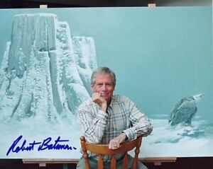 ROBERT-BATEMAN-Canadian-Artist-Autographed-8x10-Colour-Photo-Signed-Exact-Proof