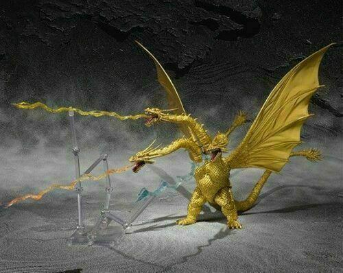 Bandai S.H.MonsterArts Godzilla King Ghidorah Special Color ver. Thunder Beam