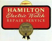 Hamilton Electric Watch