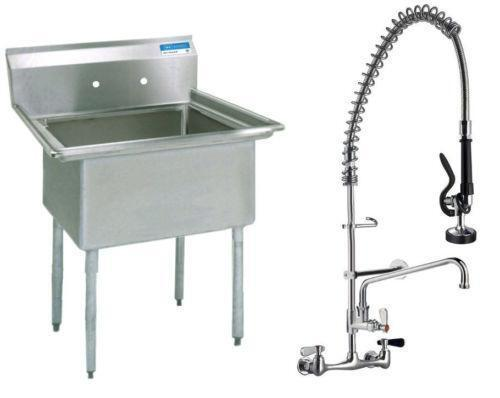 3 Compartment Sink Faucet Ebay