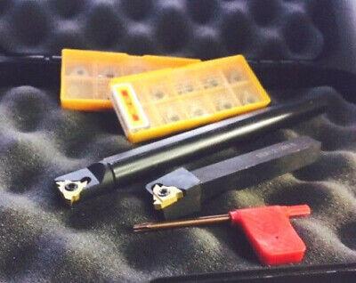 Threading Tool Set Hold7boring Bar 12 Shank 10 Carbide Inserts