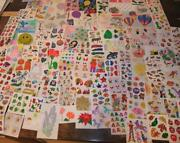 Vintage Sticker Lot