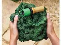 25 Feet Expandable Garden Hose With Brass Fittings