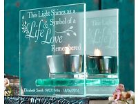 PERSONALISED HOLD A LIGHT FOR THE LOVED ONES
