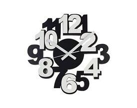 Black & White Clock (NEW)