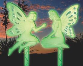 2 Glowing Fairy Stakes