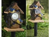 Solar Powered Bird Table
