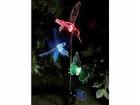Solar Insect And Bird Garden Lights