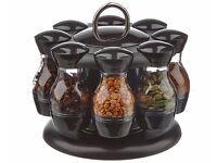 8-Jar Spice Rack